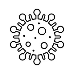 Fototapeta Koronawirus. Symbol wektor. obraz