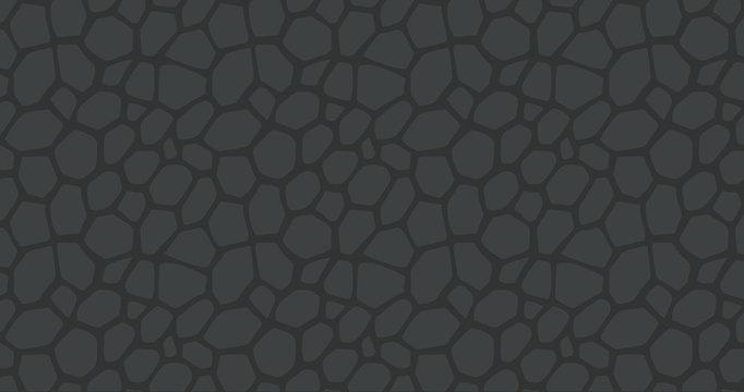 Seamless asphalt vector pattern illustration
