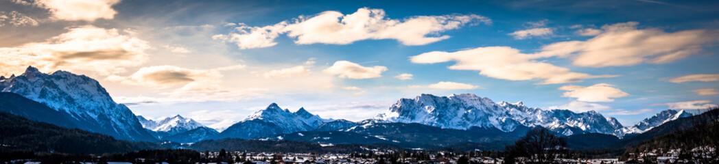 Wall Mural - karwendel mountains near wallgau