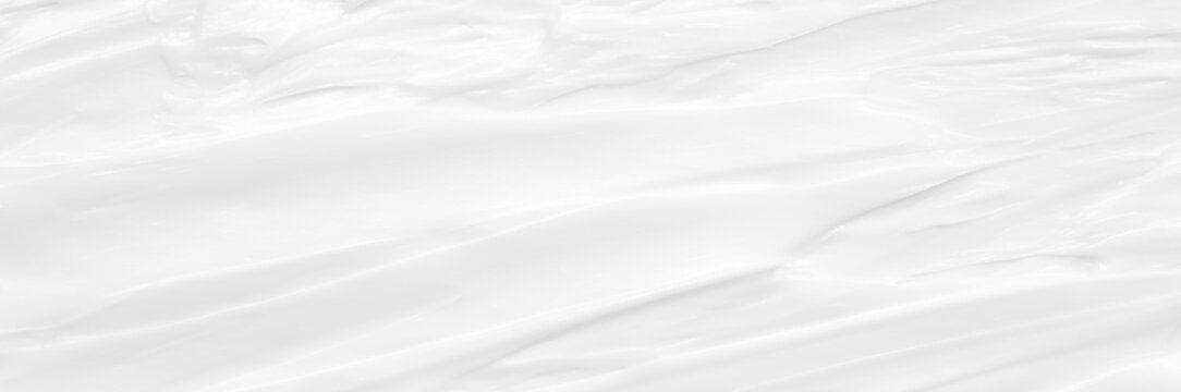 Cream texture for skin nourishment for good skin health Lotion Cosmetics Full frame Background Abstract texture Longitudinal Panorama High resolution.