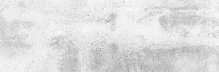 Cement wall floor High Resolution White and gray Panorama full frame Abstract texture background.