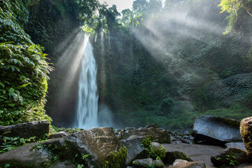 Nungnung Waterfall, Bali, Indonesia