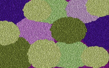 Harmonic Colors on Canvas, Digital Art