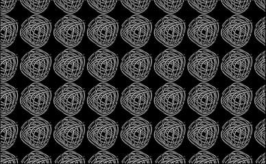 Black, White and Gray Fabrics Texture, Digital Art