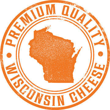 Premium Quality Wisconsin Cheese Icon
