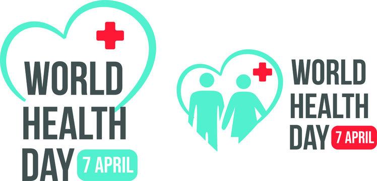 Vector on World Health Day