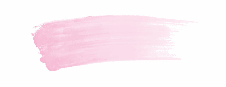 Pink watercolor splash background for your design, watercolor background concept, vector.