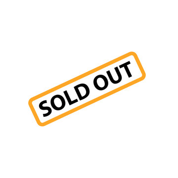 Soldout label icon