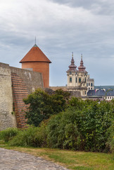 Wall Mural - St. Anthony's Church and fortress, Eger, Hungary