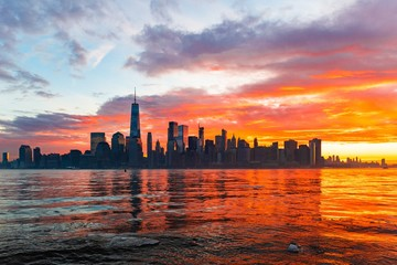 Wall Mural - New York City skyline