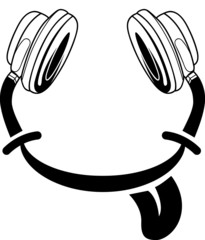 Smiley Kopfhörer