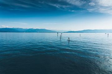 SUP auf Bodensee
