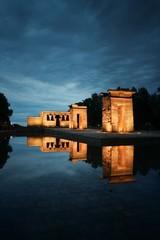Fototapete - Madrid Temple of Debod