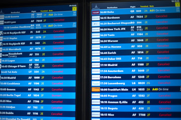 In connection with the coronavirus pandemic (COVID-19), canceled flights