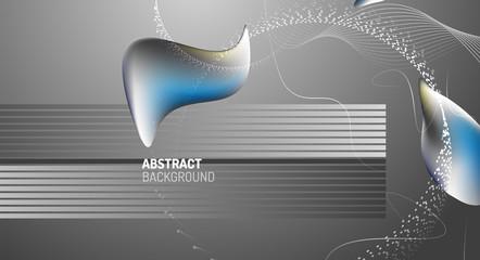 Fluid liquid color gradient background design. Vector illustration
