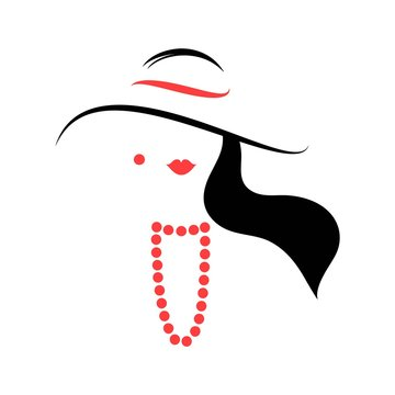 Woman in the hat