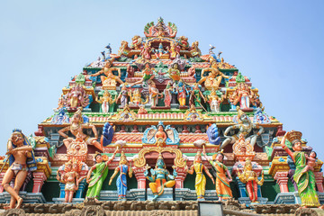hindu temple in india Wall mural