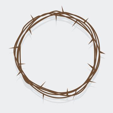 simple crown of thorns