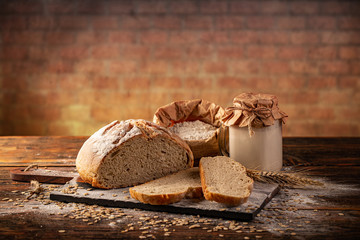 Photo Blinds Bread Active wheat sourdough
