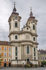Fototapete - St. Anthony's Church in Padua, Eger, Hungary