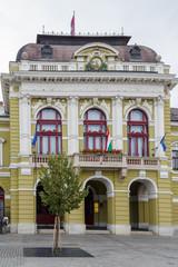 Fototapete - Eger city hall, Hungary