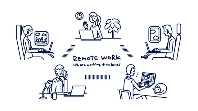 Remote work_We are working from home