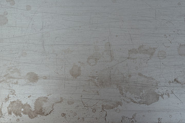 Wall Mural - Dirty scratched metal surface texture as background