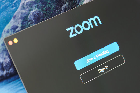 Sign in zoom app