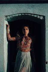 Frida Kahlo inspired street portrait