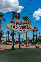 Keuken foto achterwand Las Vegas Las Vegas sign