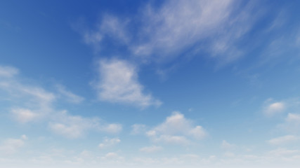 Cloudy blue sky abstract background, blue sky background with tiny clouds Fotobehang