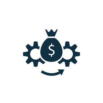 Asset Management vector icon