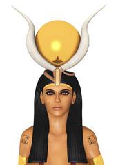 Ägyptische Göttin Hathor, Freisteller