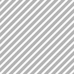 Wall Mural - Pattern stripe seamless gray and white colors. Diagonal pattern stripe abstract background.