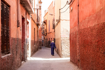 Foto op Canvas Marokko authentic architecture of Morocco, Marrakech