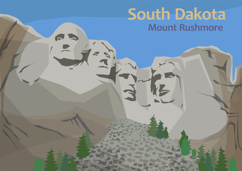 Mount Rushmore National Memorial, Keystone, South Dakota