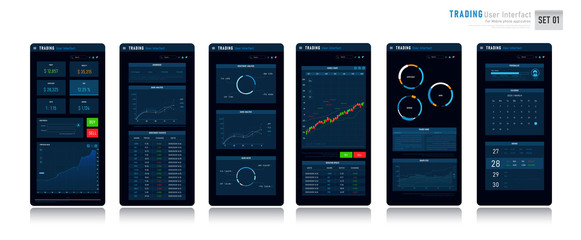 Mobile Trading User Interface 001