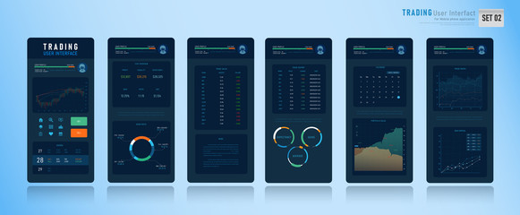 Mobile Trading User Interface 002