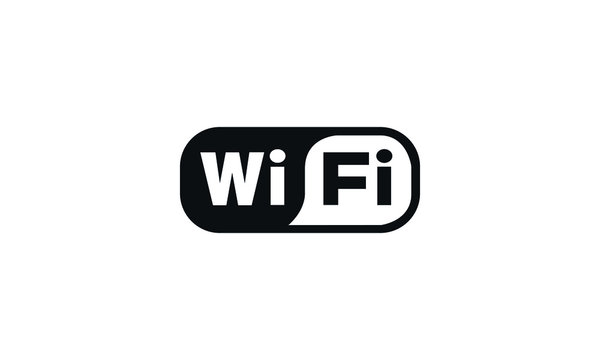 Wireless and wifi icon or sign for remote internet access
