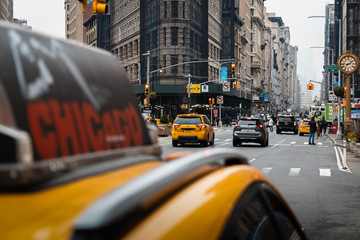 Printed roller blinds New York TAXI new york taxi