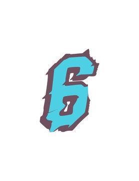 Six vector T shirt design illustration. 6 Download it now