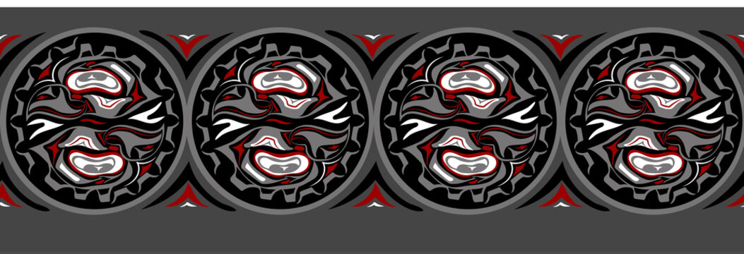 abstract background native north american