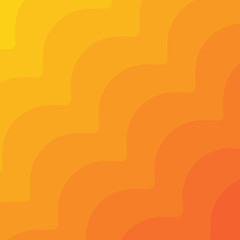 Wall Mural - Wavy geometric background. Trendy gradient shapes composition.
