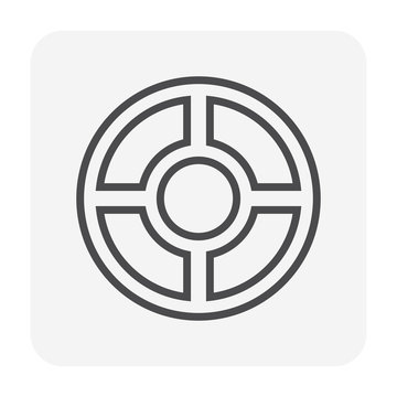 steel cover icon