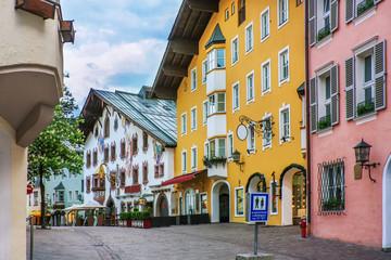 Wall Mural - Street in Kitzbuhel, Austria