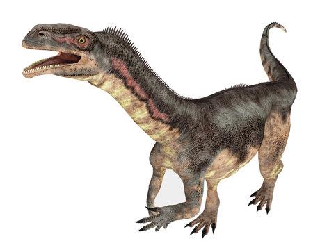 Dinosaurier Plateosaurus, Freisteller