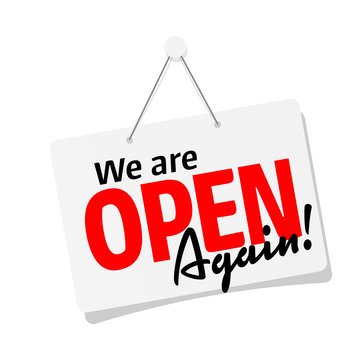 We are open again !