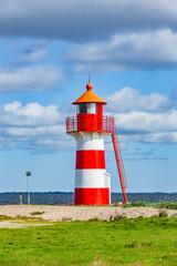 Wall Mural - Leuchtturm Grisetaodde in Dänemark