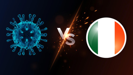 Virus against the country Italy