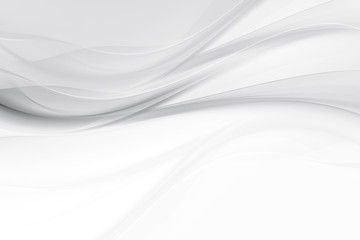 Wall Mural - Modern and fashion abstract white and grey background. Very trendy design interior home.